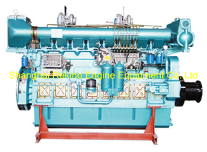 297HP-816HP Zichai medium speed marine diesel engine (Z8170)