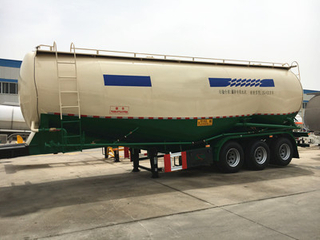 25CBM Bulk cement transport tanker semi trailer