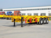 3 Axle 30-45T Container Skeleton Semi Trailer
