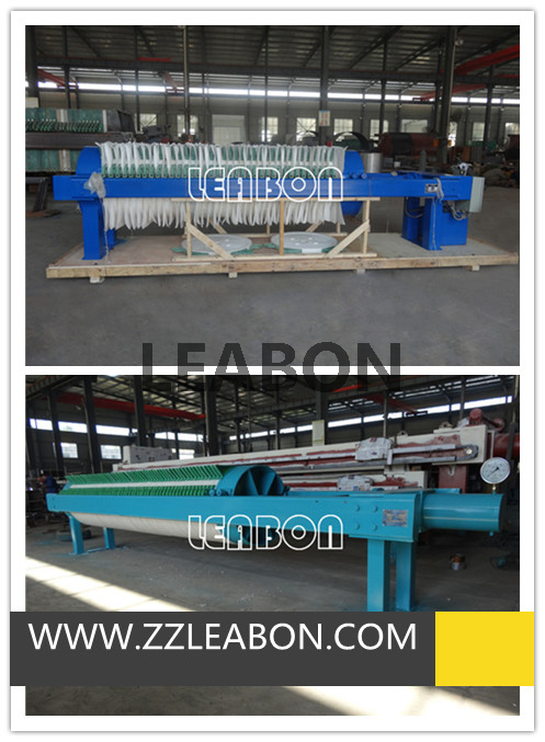 CE Approved Circular Frame Kaolin Filter Press