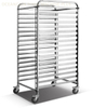 High Quality Practical Stainless Steel 16 Pan Trolley HST-16