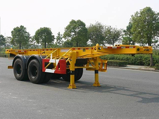 2 Axle 30T Container Skeleton Semi Trailer