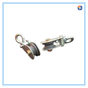 small block pulley mini wire rope lifting pulley rope guide pulleys