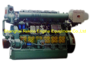 247-450HP Ningbo CSI Ningdong medium speed marine diesel engine (N6160)