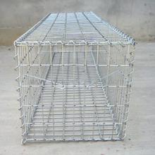 Galvanized CE Welded Steel wire gabion baskets
