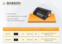 New product - compatible toner cartridge for Canon CRG039