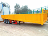 New 3 Axle 30 Tons Sidewall Tractor Semi Trailer in China