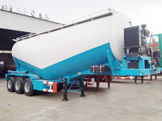 Tri-Axle 35CBM Bulk Cement Power Tank Trailer for Sale