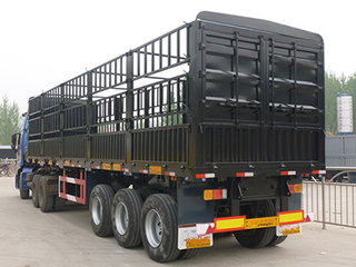2018 China Factory Directly Sale Stake Fence Truck Semi Trailer