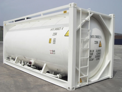 26000L T6 20FT Lithium Hexafluorophosphate Powder ISO Tank Container for Japan Market