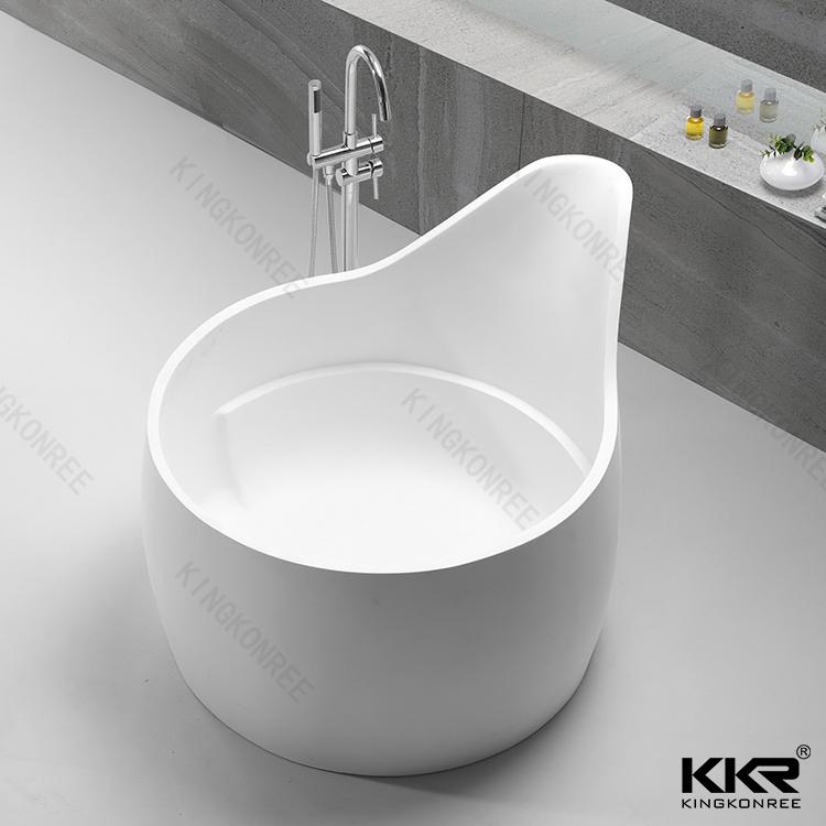 Round bathroom bath tub KKR-B070 from China manufacturer - solid ...