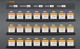 Battery monitor interface