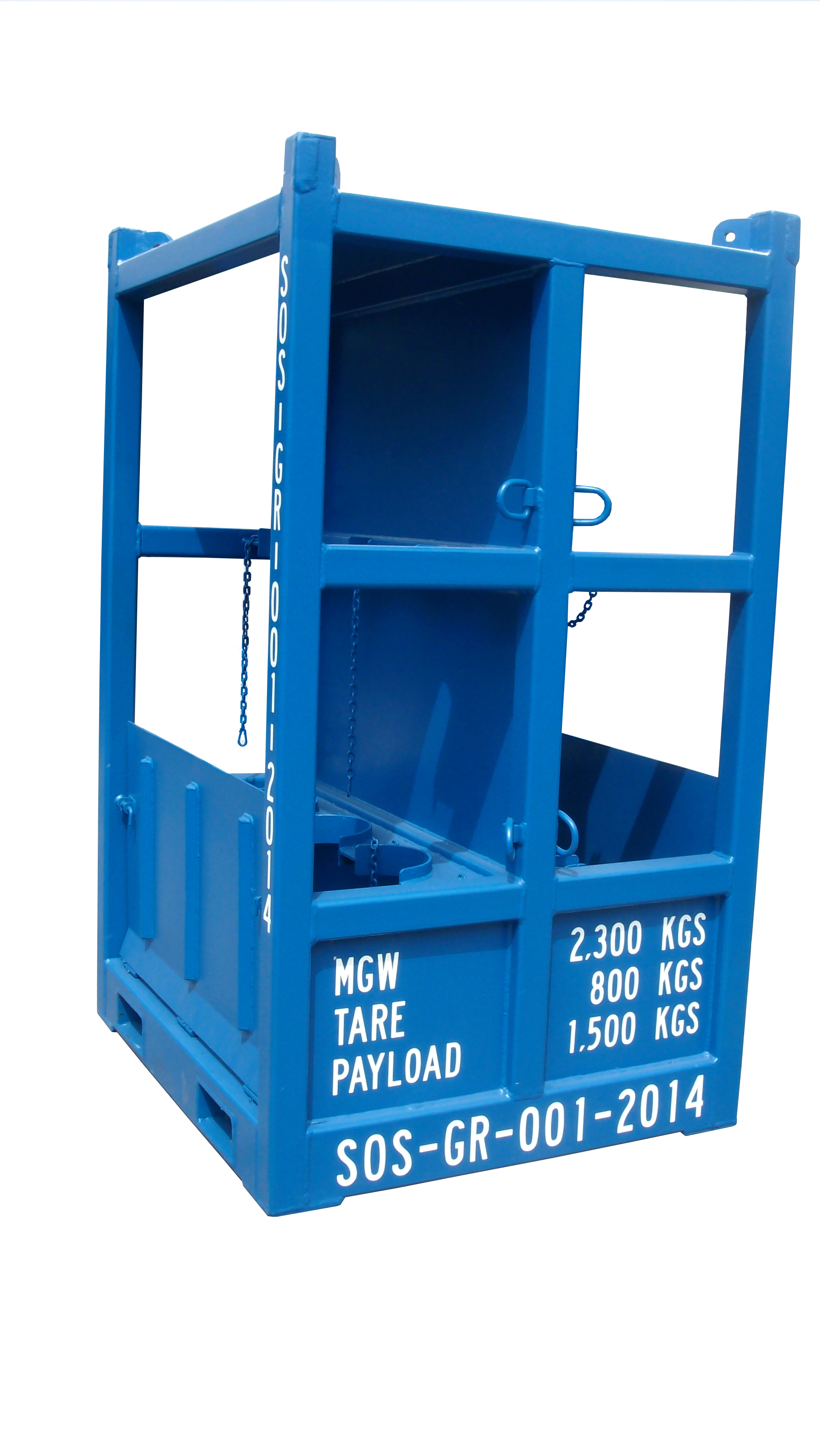 Offshore Gas Bottle Rack Cylinder Rack Wright Offshore