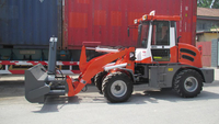 Hot sale hydraulic ZL15F wheel loader made in China with Rops&Fops