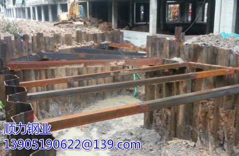 steel sheet piles cofferdam