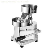 ZJG-100 Burger Patty Making Machine for Fast Food Shop