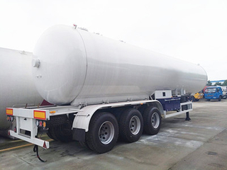 22Tons 56000liters Carbon Steel Material LPG Tank LPG Semi Trailer