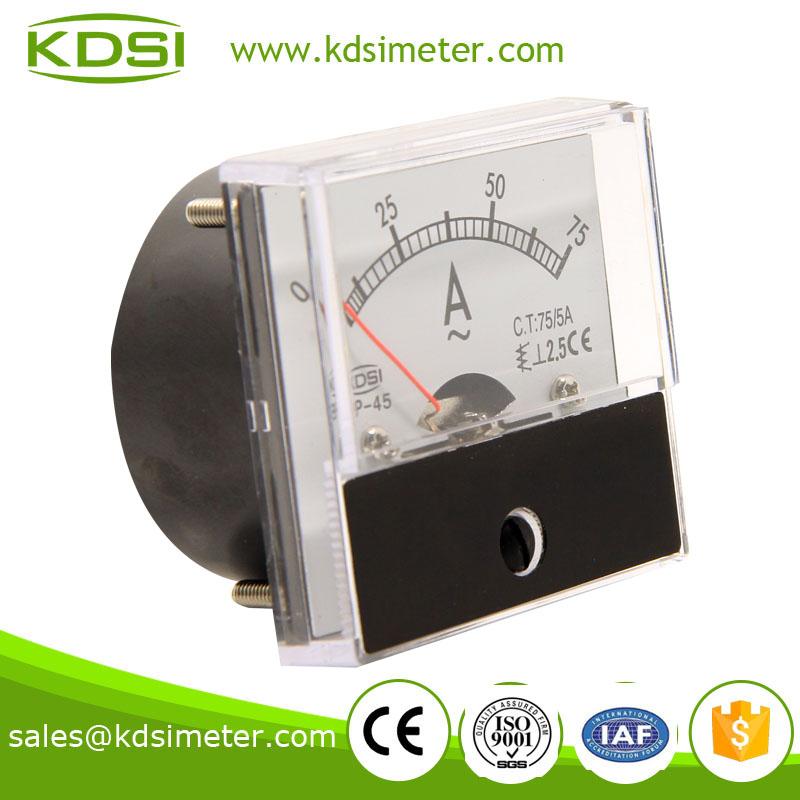 指针式交流电流表 BP-45 AC75-5A-1