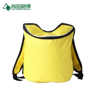 Custom Simple Zipper Close Polyester Cool Backpack Cold Food Storage Bag