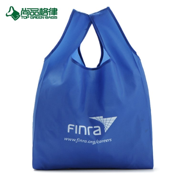 16bfa3feb6 Polyester Foldable Nylon Grocery Bag Shopping Tote Bag With Seperated Pouch  (TP-FB220)