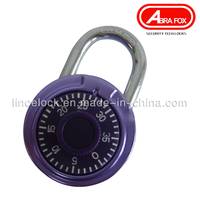 Aluminum Alloy Housing Combination Dial Padlock (503-1)