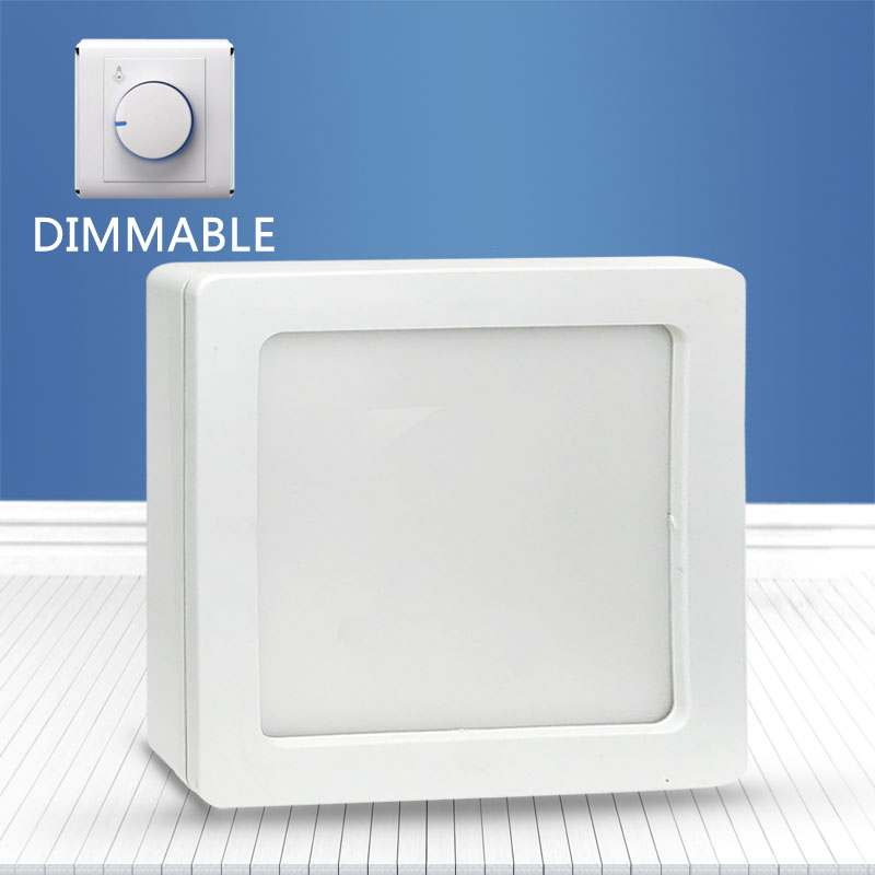 Dimmable Square surface mounted panel light 20W