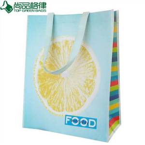 Cheap Custom Non Woven Laminated Bag for Shopping (TP-LB268)
