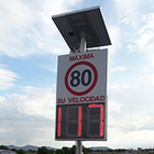 Radar speed sign project in Mexico