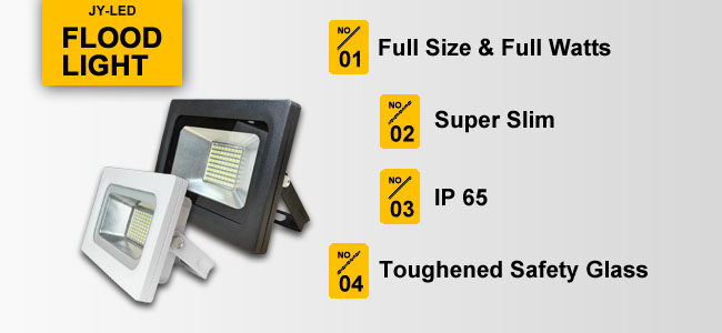 High Quality Super Slim Flood Light