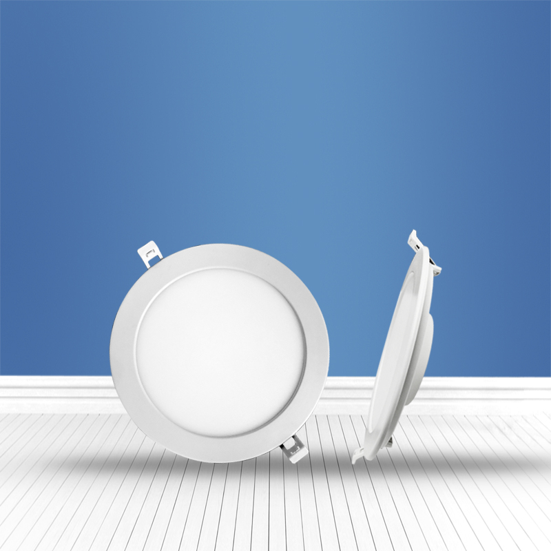 Round recessed Panel Light 9W