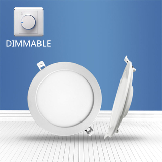 Dimmable Round recessed Panel Light 16W