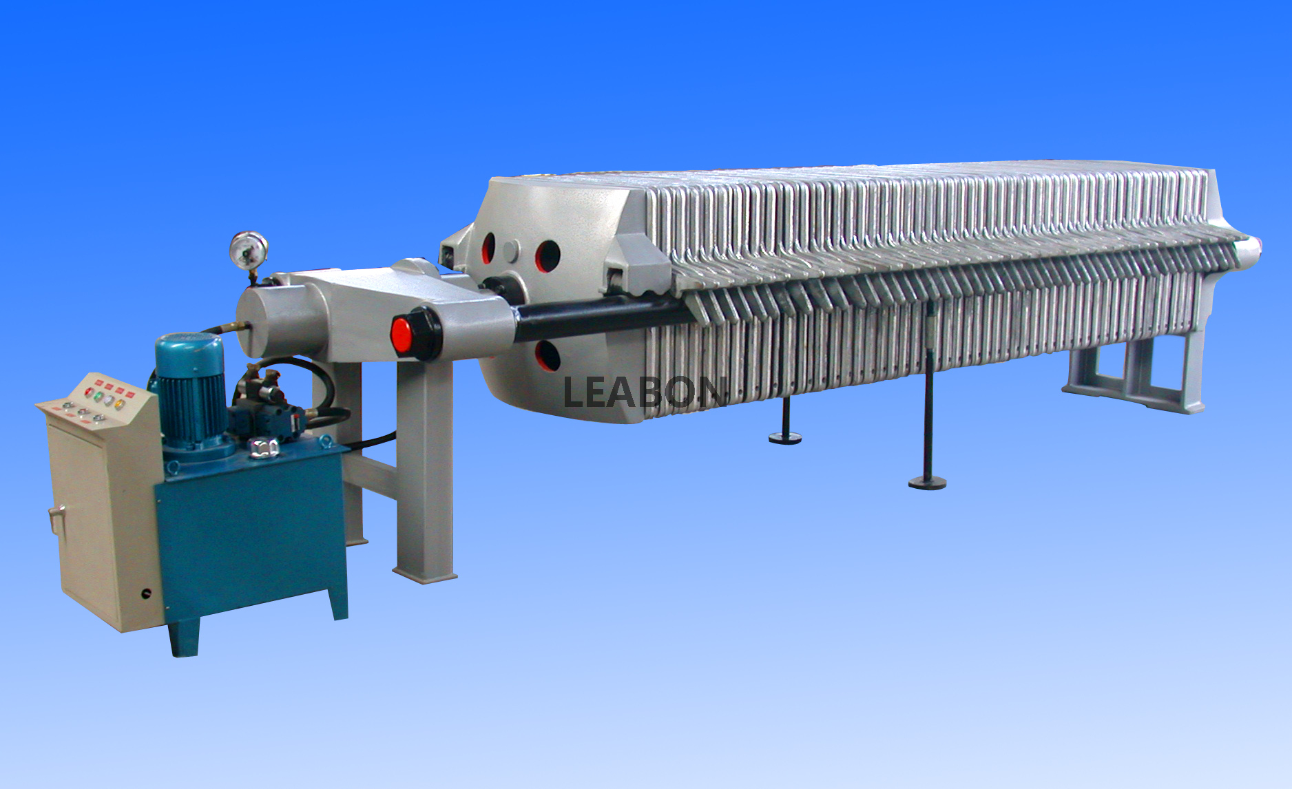 High Quality Cast Iron Automatic Chamber Filter Press