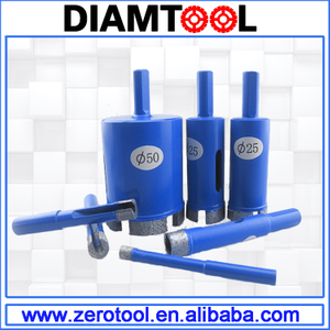 Brazed Diamond Core Bit for Stone Drilling