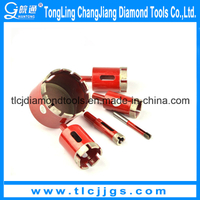 Laser Welding Diamond Core Drill Set for Stone