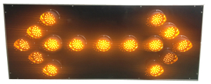 Aluminum LED Truck/Vehicle Mounted Arrow Board