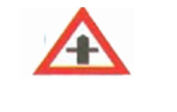 Traffic Crossroad Sign