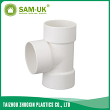 PVC DWV tee for drainage water