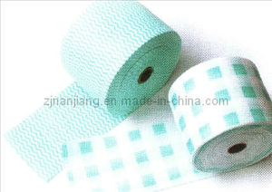 Household Daily Nonwoven Disposable Towel Roll Cleaning Cloth