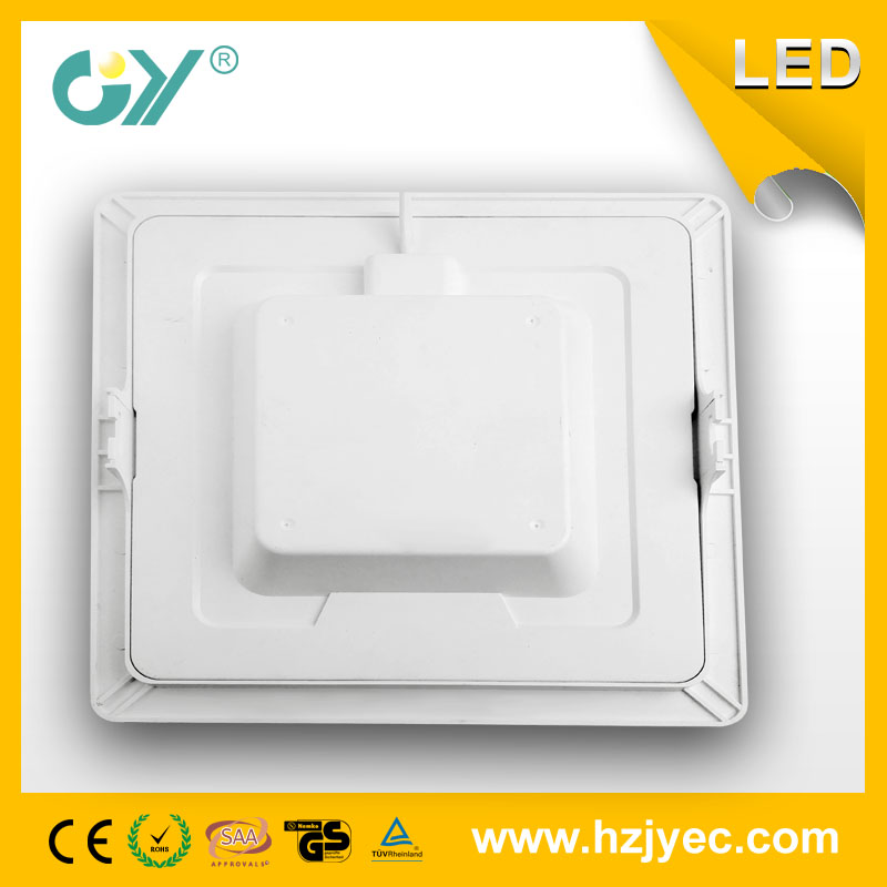 Dimmable Square recessed panel light 6W