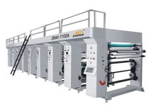 ZRAY-A shaft type gravure printing machine