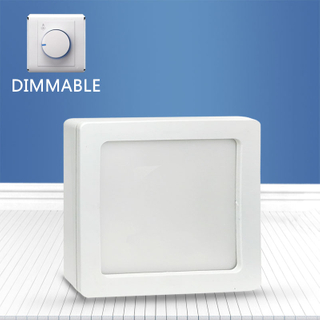 Dimmable Square surface mounted panel light 16W