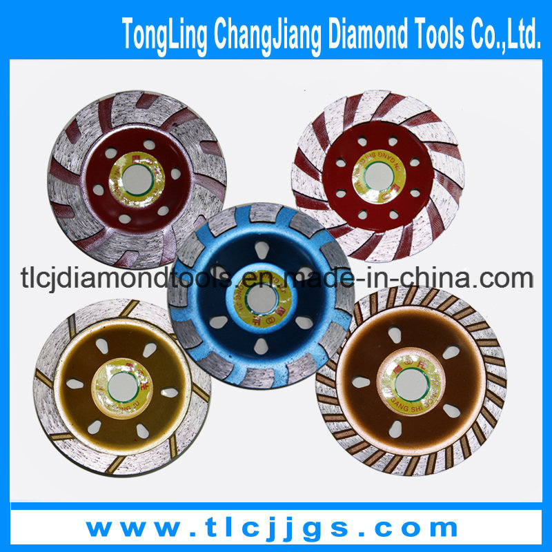 Single Row Diamond Grinding Wheel with Segment
