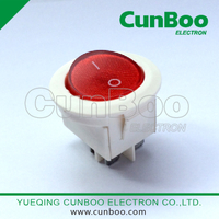 DB-007 overload protector switch with round button