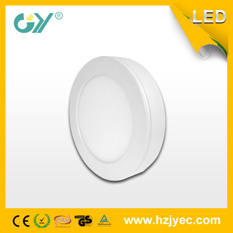 Dimmable Round surface mounted panel light 6W