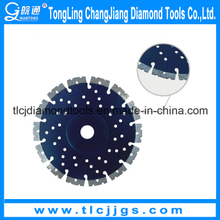 Laser Granite Silent Saw Blade with Flange