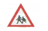Traffic School crossing Sign
