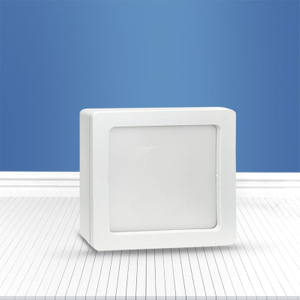 Square surface mounted panel light 12W