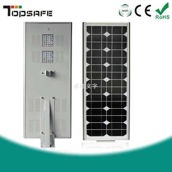 China 50w All In One Solar Led Street With Motion Sensor