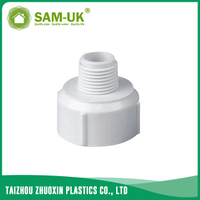 PVC thread reducer for water supply BS 4346