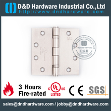 Stainless Steel Grade 304 Standard Door Hinge with Double Ball Bearing for Smoke Resistant Door-DDSS454534